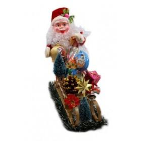 Neukirch Santa Claus with Sleigh Sweet 5.25oz