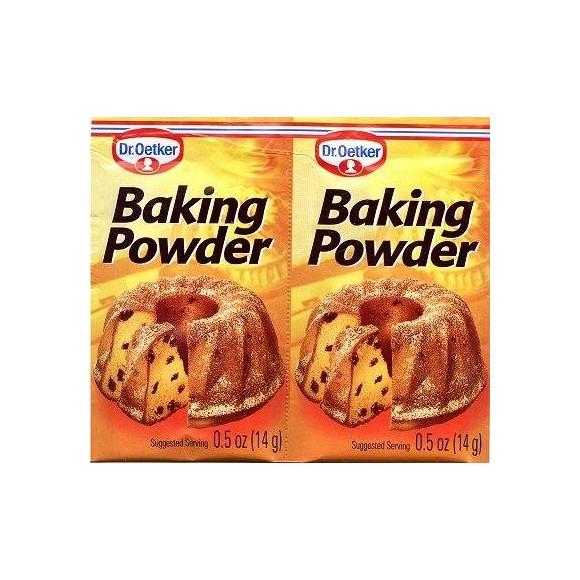 Dr.Oetker Baking Powder 6x0.5oz/14g