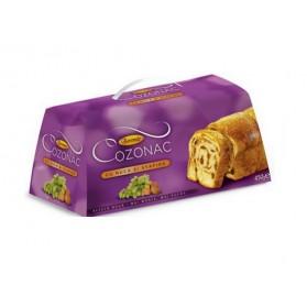 COZONAC w/ WALNUTS and RAISINS (Marble Sponge Cake) 450g