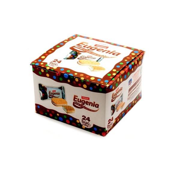 Dobrogea Eugenia Biscuits Vanilla and Milk Cream Display 648g/22.85oz