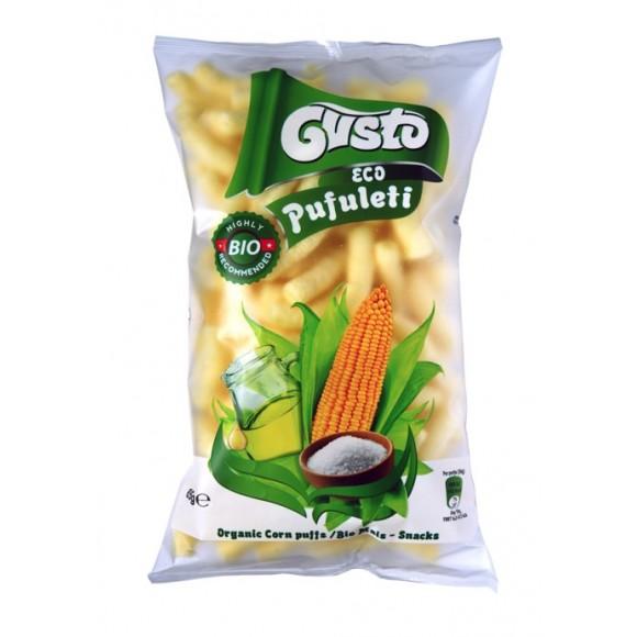 Gusto Eko Pufuleti / Corn Puffed Sticks Organic 85g/2.99oz