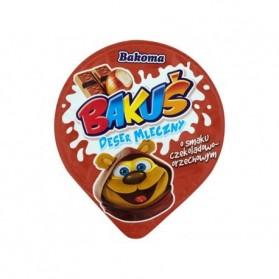 Bakoma Bakus Chocolate Hazelnut Milk Dessert 100g/3.52oz