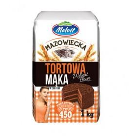 Melvit Mazowiecka Tortowa Wheat Flour 1kg/35.27oz