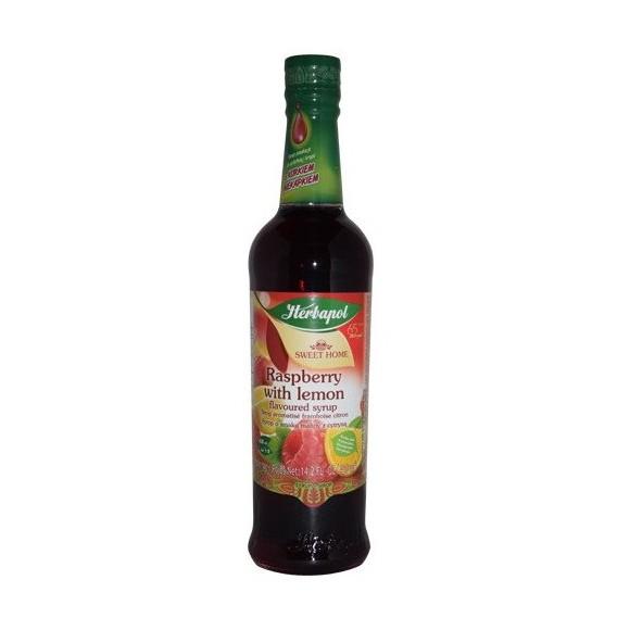 Herbapol Raspberry with Melisa Flavour Syrup 420ml/14.20fl.oz