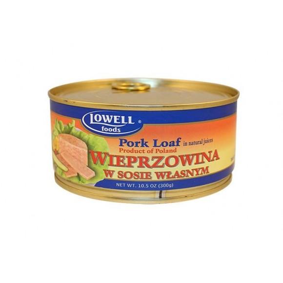 Lowell Pork Loaf in Natural Juices 300g/10.5oz