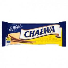 E.Wedel Chalwa Krolewska Vanilla Flavour Sesame Halva 50g/1.76oz