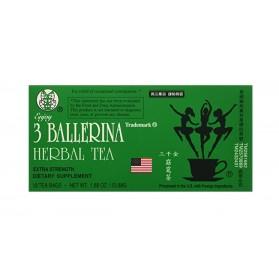 Trademark  3 Ballerina Herbal Tea 53.88g/1.88oz