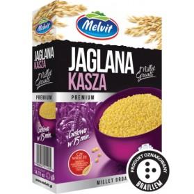 Melvit Millet Groats in Sachets 4 bagsx100g 400g/ 14.11oz