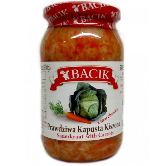 Bacik Sauerkraut with Carrots 900g/31oz