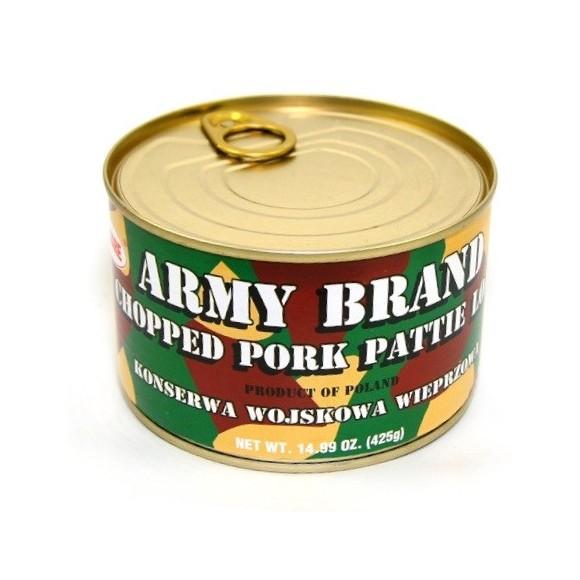 Army Brand Chopped Pork Loaf  14.99 oz / 425 g