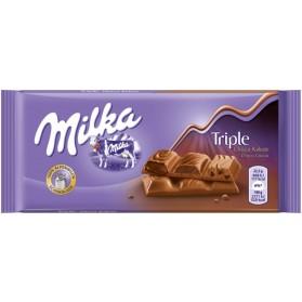Milka Triple Choco Cocoa 90g/3.17oz