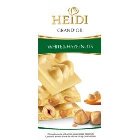 Heidi White Choco w/ Whole Hazelnut 3.5oz