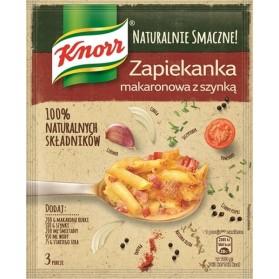 Knorr Naturalne Smaczne Zapiekanka Makaronowa z Szynka / Macaroni with Ham 44g