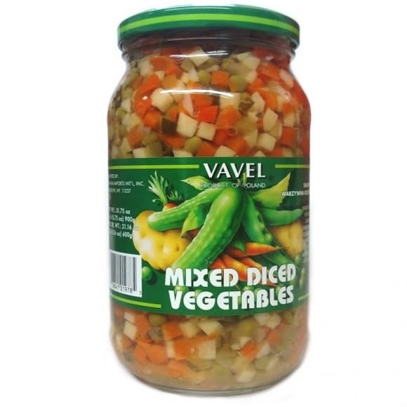 Vavel Mixed Diced Vegetables 900g/31.75oz