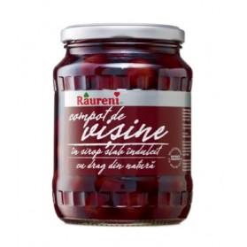 Raureni Sour Cherry Compote / Compot de Visine 720g/25oz