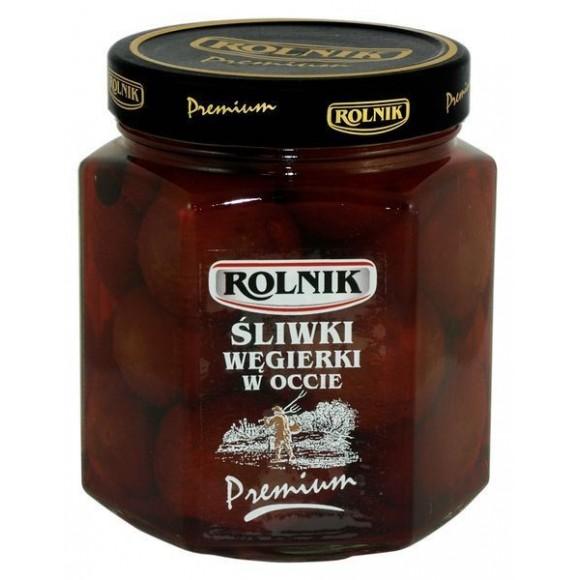 Rolnik Plum in Vinegar 540g/19.04oz