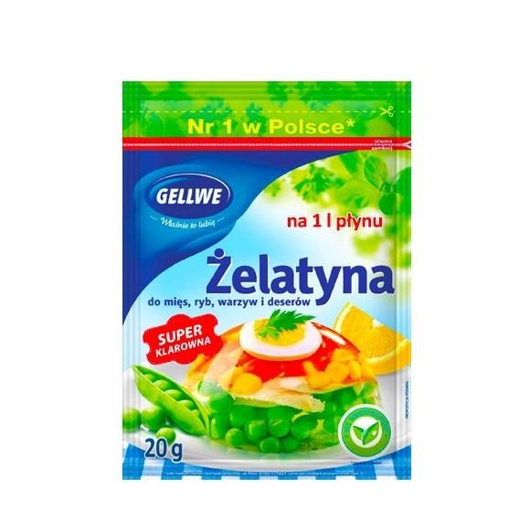 Gellwe Gelatine 20g/0.70oz
