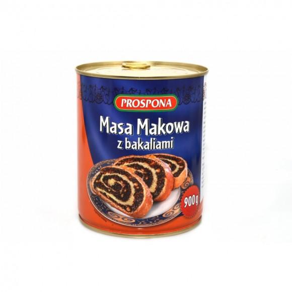 Bakalland Poppy Mass / Masa Makowa 850 g/30oz