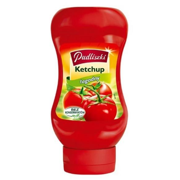 Pudliszki Ketchup Mild / Łagodny 480g./16.93oz.