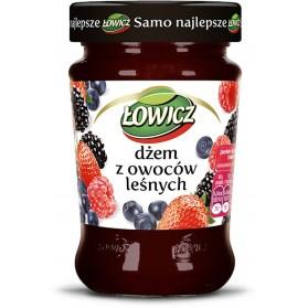 Lowicz Blueberry Jam / Dzem Jagodowy 280g.9.9oz