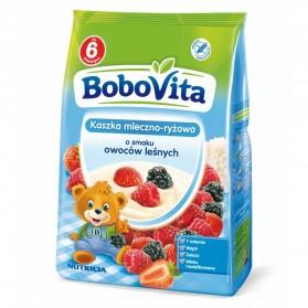 Bobovita Milk and Rice-Corn porridge Mixed Fruits/Kaszka Mleczno-Ryżowa o smaku Owocowym 230g/8.11oz
