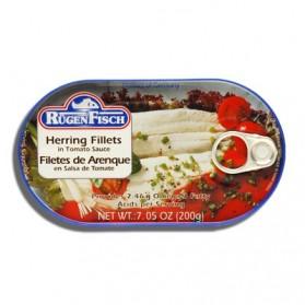 Rugen Fisch Herring Fillets in Tomato Sauce 200g/7.05oz