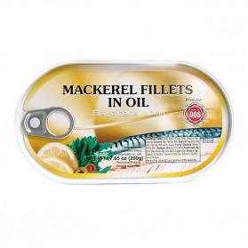 DOS Mackerel Fillets in Oil 200g/7.05oz