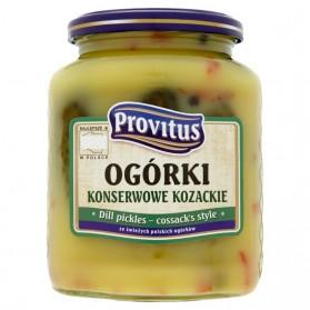 Cossack's cucumbers 640 g (Ogórki kozackie)