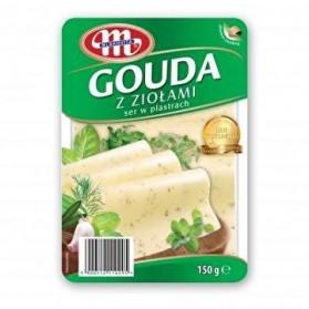 Mlekovita Gouda Cheese with Herbs 150g/5.27oz