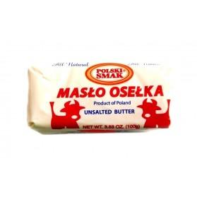 Polski Smak Maslo Oselka/Unsalted Butter 100g/3.52oz