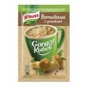 Knorr Hot Cup Boletus instant Soup / Borowikowa z grzankami 15g/0.53oz
