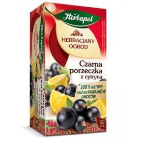 Herbapol Black Currant with Lemon Tea 20 bags 54g/1.9oz