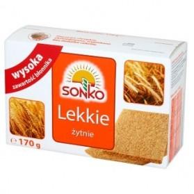 Sonko Crisp Bread with Sunflower Seeds / Pieczywo Lekkie ze Slonecznikiem 170g./6oz.