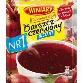 Winiary Red Borsch Instant Soup / Barszcz Czerwony 170g/5.99oz