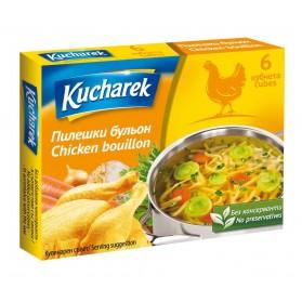 Kucharek Beef Flavored Bouillon 12 cubes 120g /4.23oz