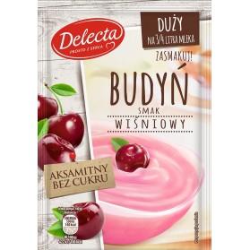 Delecta Cherry Pudding / Duży Budyń Smak Wiśniowy 64g/2.26oz