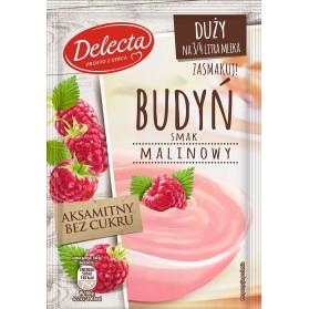Delecta Raspberry Pudding / Budyn Malinowy 64g/2.26oz (W)