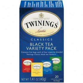 Twinings Variety Pack Black Tea 20bags 40g/1.41oz