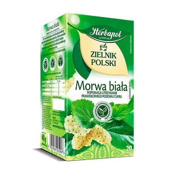 Herbapol White Mulberry Tea / Morwa Biala 20bag 40g/1.41oz