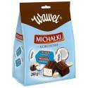 Wawel Michalki Kokosowe Chocolate Coated Coconut Candies 280g/9.88oz