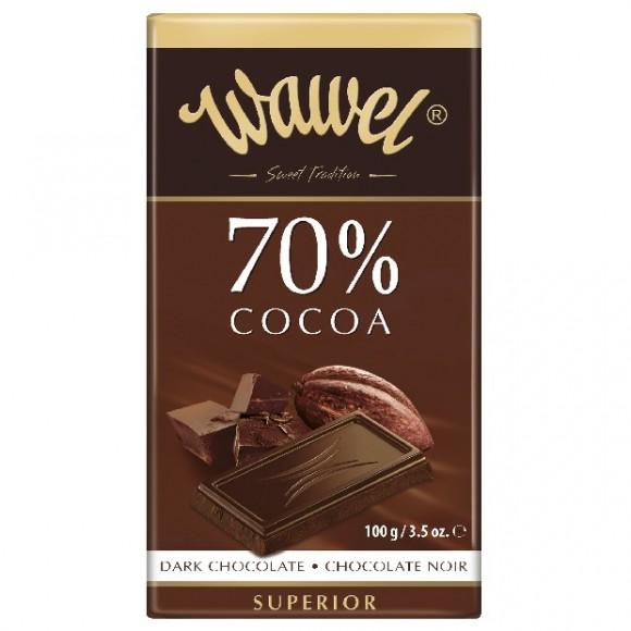 Wawel Dark Chocolate 70% Cocoa 100g/3.5oz
