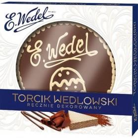 Torcik Wedlowski- Hand Ddecorated, Wedel Torte   8.8 oz