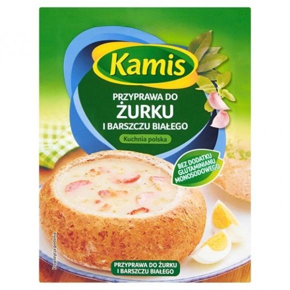 Kamis Sour Soup Seasoning and White Borscht / Przyprawa do Żurku i Barszczu Białego 20g.