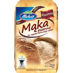 Melvit Oat Flour 1kg/2.20lb