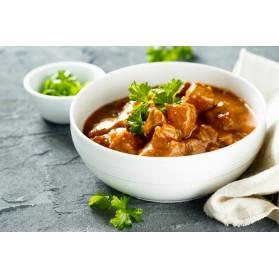SERTÉSPÖRKÖLT NOKEDLIVEL / Hungarian Style pork stew 1.5 lb