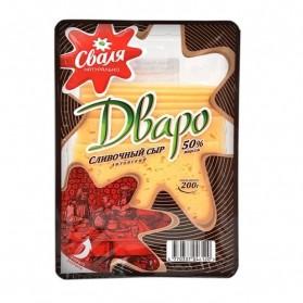 Dvaro Cheese - Sliced 200g  7.05oz 50%