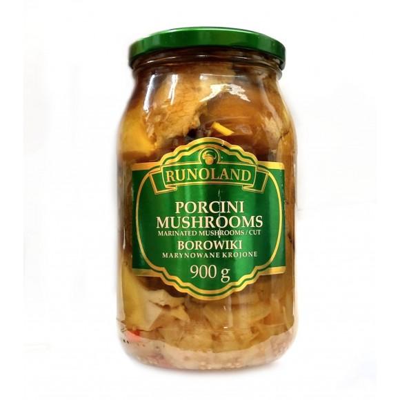 Runoland Bay Bolete Marinated Mushrooms / Whole 900g/31.76oz