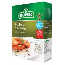 Kupiec Wild Rice & Paraboiled 2x100g