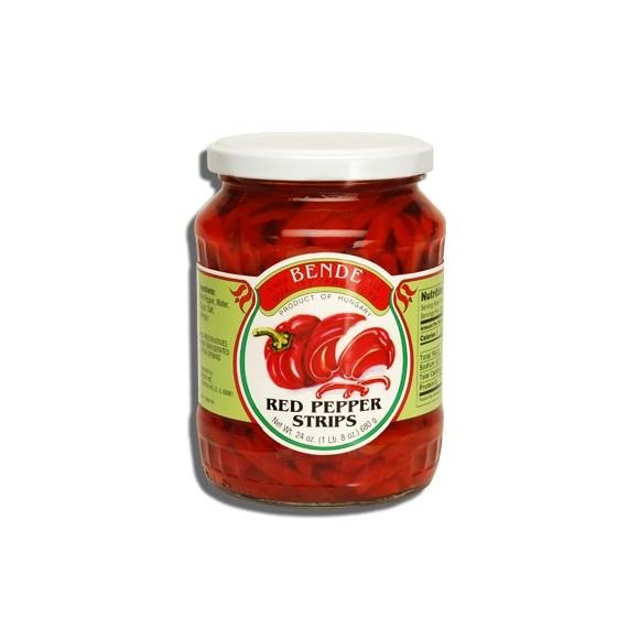 Bende Red Pepper Strips 680g (24oz)