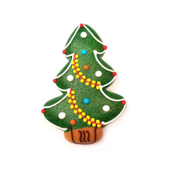 Iced Gingerbread Christmas Tree 32g